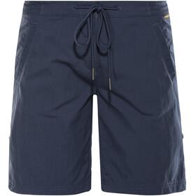 Jack Wolfskin Pomona - Pantalones cortos Mujer - azul